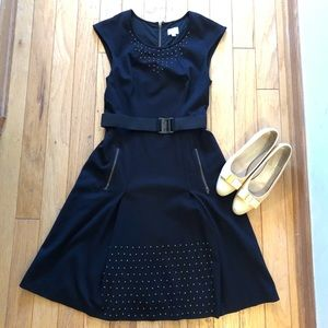 Tracy Reese studded black dress